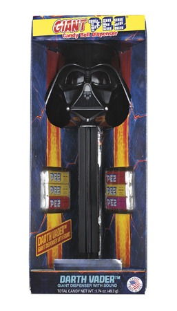 Giant PEZ Darth Vader
