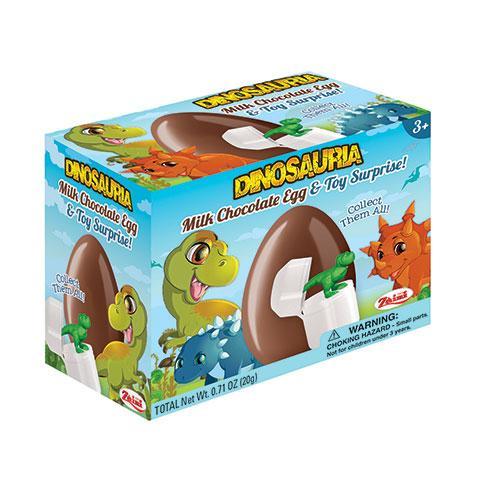 Dinosauria chocolate surprise egg