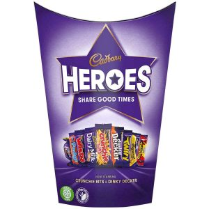UK Cadbury Heroes Carton