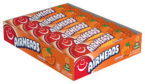Airheads Orange Display