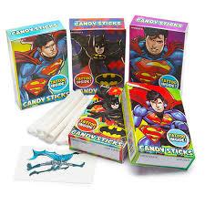 Batman & Superman Sticks