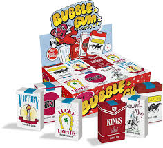 Bubble Gum Cigarettes Display