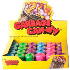 Garbage Candy Display
