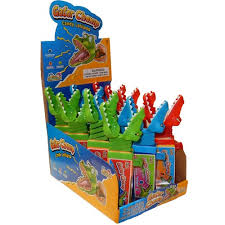 Gator Chomp Lollipop Display