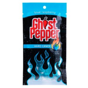 Ghost Pepper Candy Blue raspberry