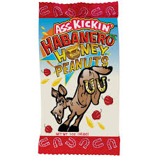 Ass Kickin Habanero Honey Peanuts