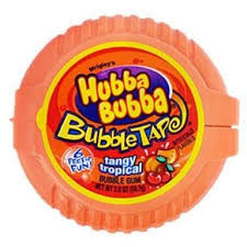 Hubba Bubba Bubble Tape Tangy Tropical