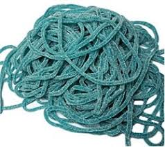 Licorice Ropes Sour Blue Raspberry