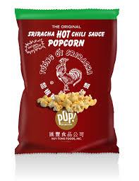 Siracha Popcorn