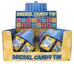 Tin Dreidel Candy
