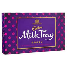 UK Cadbury Milk Tray 78g
