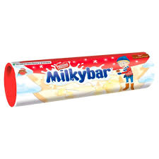 UK Milky Bar Tube 100g