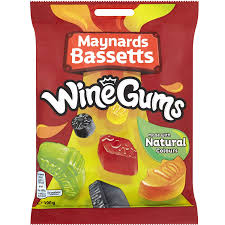 UK Wine Gums 190g