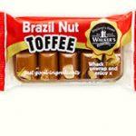 Walkers Toffee Brazil Nut