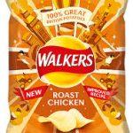 Walkers Crips Roast Chicken