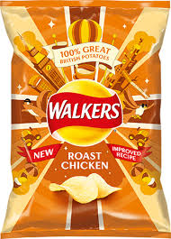 Walkers Crips Roast Chicken
