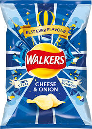 Walkers Crisps Cheese & Onion