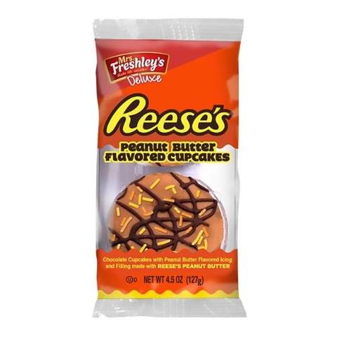 Mrs Freshleys Reeses Peanut Butter Flavored Cupcakes