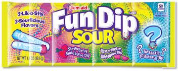 Fun Dip 3 Flavour Sour 40g