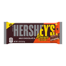 HERSHEY'S Milk Chocolate & REESE'S PIECES Candy Bar