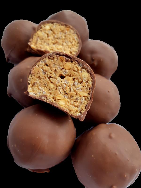 Peanut Butter Crisp Ball Milk Chocolate
