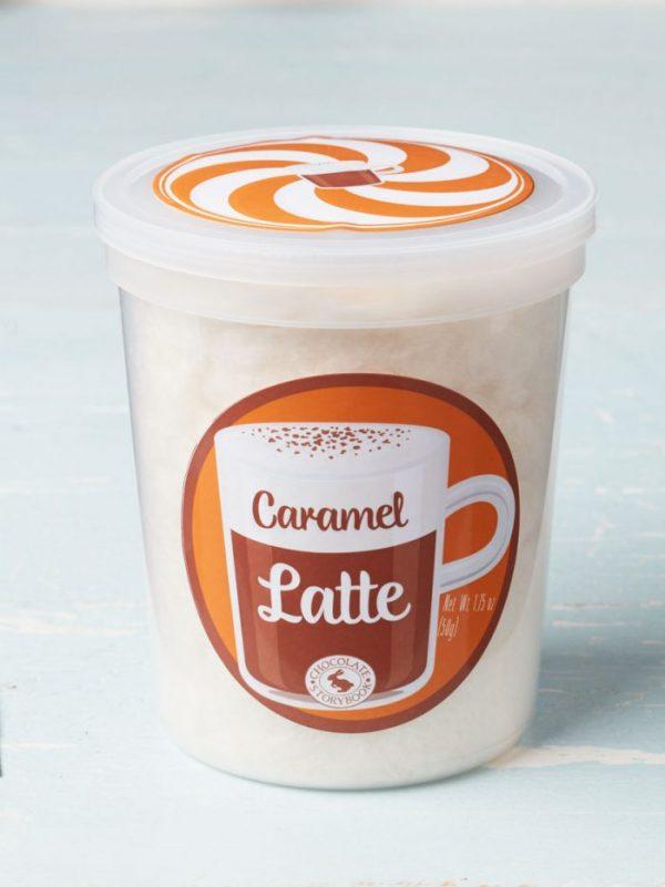Cotton Candy Caramel Latte