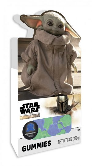 The Mandalorian Baby Yoda Gummies Box