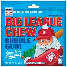 Big League Chew Santa