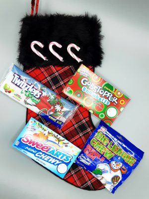 Candy Lovers Christmas Stocking