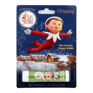 Elf on the shelf lipbalm