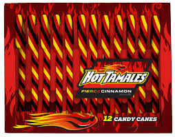 Hot Tamales Candy Canes 12