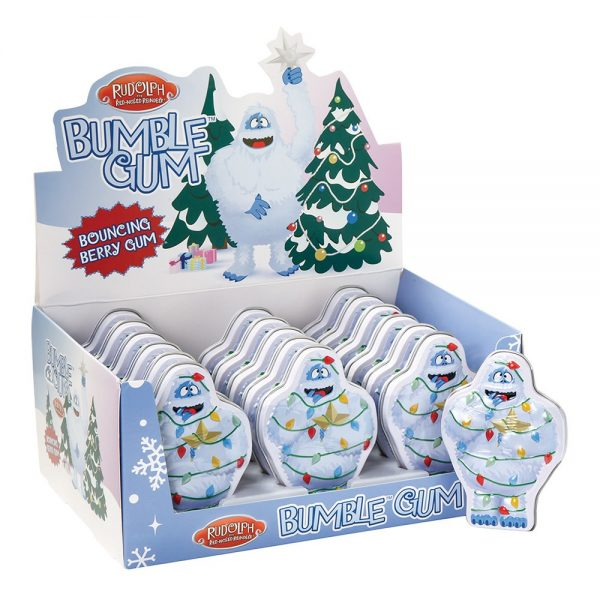 Display Rudolph the Red-Nosed Reindeer Bumble Gum Tin