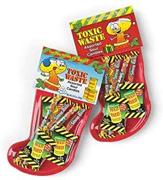 Toxic Waste Christmas Stocking