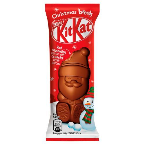 UK Christmas Santa Kit Kat 29g