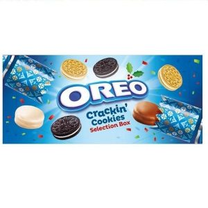 UK Oreo Crackin' Cookies Selection Box