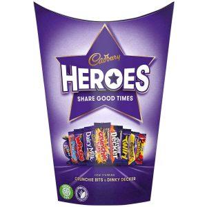 UK Cadbury Heroes Carton