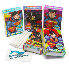 Batman & Superman Sticks