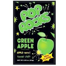 Pop Rocks Green Apple