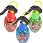 Sour Blast Grenade Candy Spray
