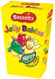 UK Jelly Babies 400g Box