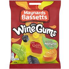 UK Wine Gums 190g