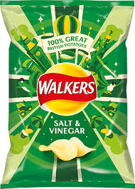 Walkers Crips Salt & Vinegar