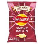 Walkers Crips Smokey Bacon