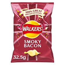 Walkers Crips Smokey Bacon