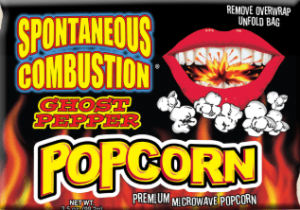 Ass Kickin ghost pepper popcorn