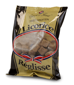 Licorice Sweet Griotten Europe's Finest 90g