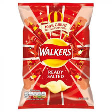 Walkers Crisps Ready Salted