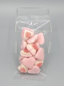 Package of Pink Gummy Hearts