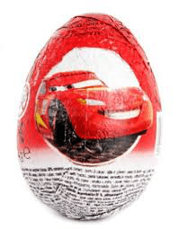 Cars 3 Chocolate Surprise Egg