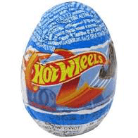 Hot Wheels Milk Chocolate Surprise Egg